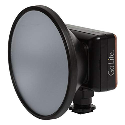 Lowel (G3-10) Go Lite Constant & Macro Flash LED Light for use with DSLR or Video Cameras, Black