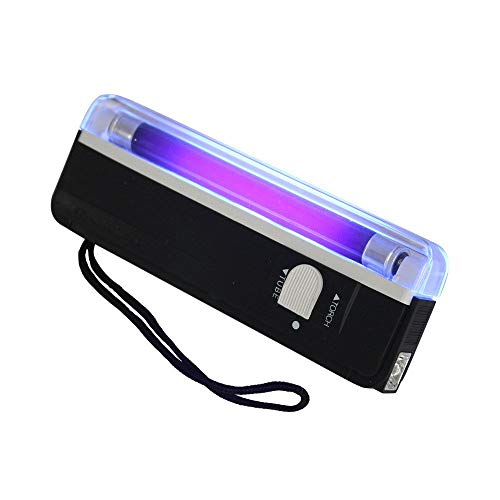 U/K Lampe de poche intéressante LED - Lampe de poche portable à lumière noire - Lampe de poche portable et utile