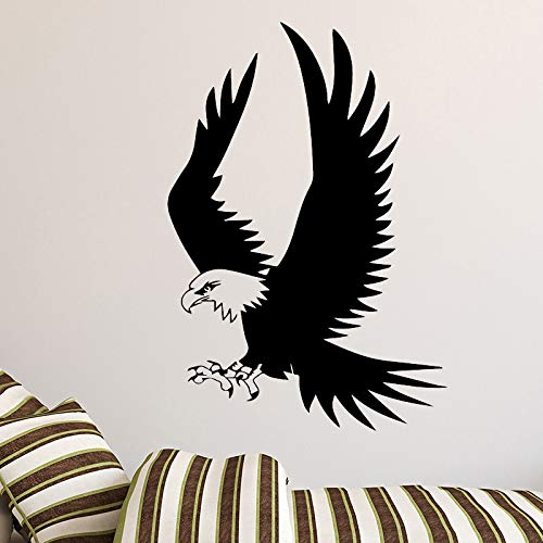 tzxdbh Exquis Eagle Muursticker afneembaar Muursticker DIY behang voor kinderkamer woonkamer decoratie thuis 43 x 62 cm