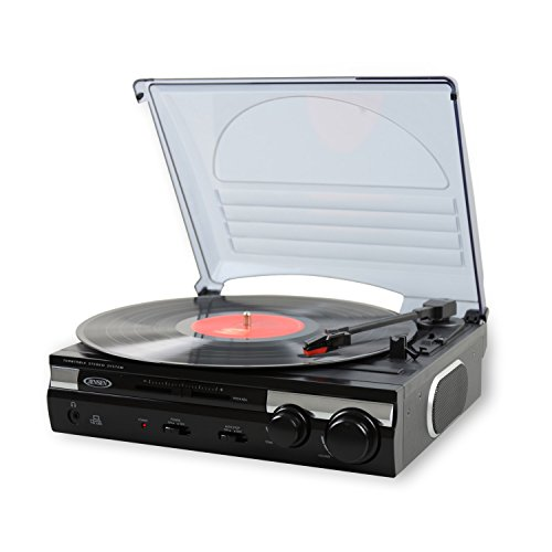 A turntable that converts vinyl to mp3 is a great gift for dads who want nothing