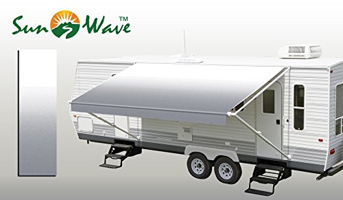 SunWave Awning Fabric Grey Fade 16