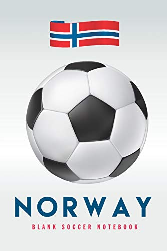 Norway: Blank Soccer Notebook for Football  fans