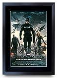 HWC Trading A3 FR Captain America 2 Der Winter Soldier