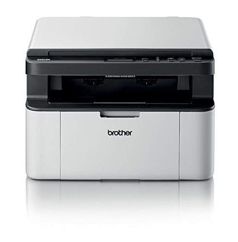 Brother DCP-1510 Stampante Multifunzione Laser, Compatta, Monocromatica, Display LCD, USB