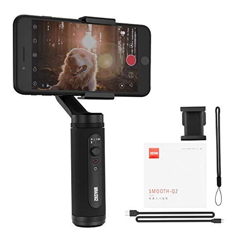 ZHIYUN Smooth Q2 Gimbal Estabilizador para Smartphone 3 Ejes...