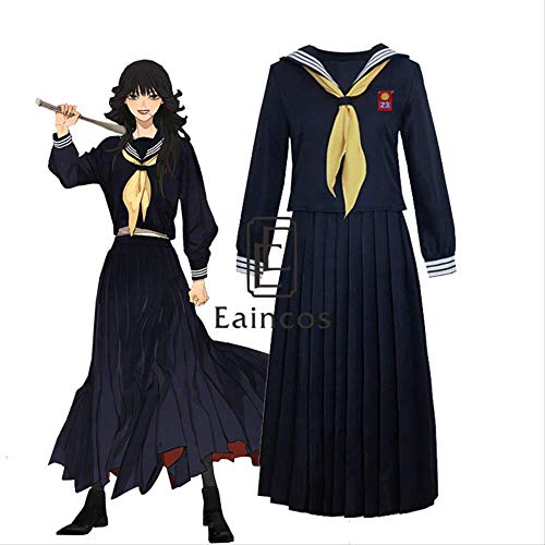 WSJDE Kyou Kara Ore WA Kyouko Hayagawa Sailor Skirt Set Cosplay Disfraz Uniforme Escolar XL
