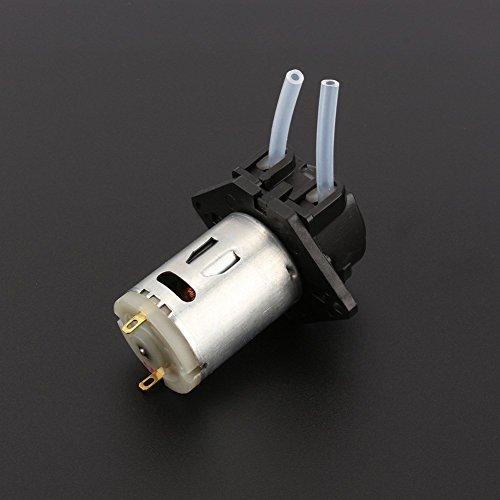 GOTOTOP 12V DC Dosierung Schlauchpumpe Dosierung Kopf mit Stecker für Arduino Aquarium Lab Analytische DIY