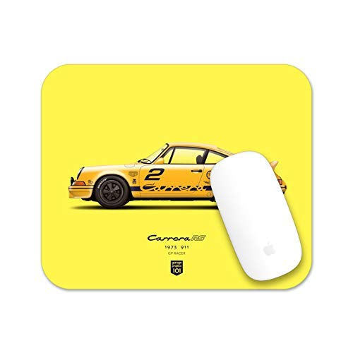 Price comparison product image GarageProject101 1973 911 Carrera RS (GP Edition) Illustration Mouse Pad