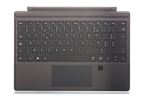 Microsoft QC7-00016 - Funda con Teclado para Surface Pro 4 Negro