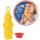 Pustefix 869-525 420869525 - Seifenblasen Zauberbär 180 ml, farblich sortiert