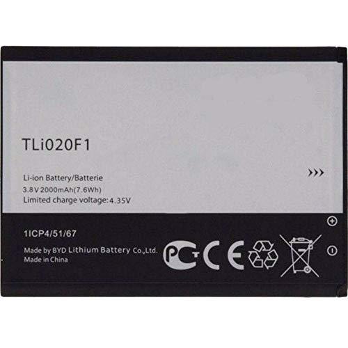 Batería Interna de Recambio TLi020F1 para Alcatel OneTouch Compatible con Alcatel TCL J720 J720T J726T