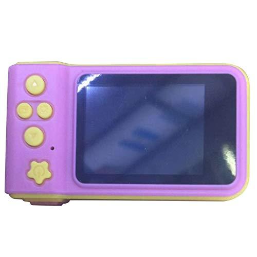 K7子供用デジタルミニカメラ一眼レフカメラフルカラー2.0インチディスプレイピンク