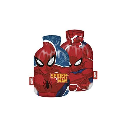 Wärmeflasche Auswahl Kinderwärmflasche Wärmekissen Heizkissen Wärmflasche Frozen Einhorn Lama Micky Maus Minnie Maus Die Eiskönigin Spiderman Flamingo (Spiderman)
