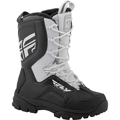 Fly Racing Marker Boots (White, 14)