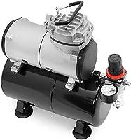 Aerograph Airbrush Mini Oil-Less Air-Compressor with Tank