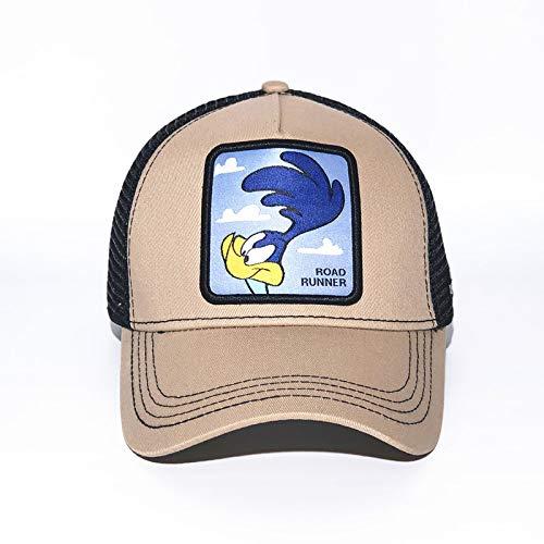 sdssup Anime Cartoon Mütze Hut Netz Mütze blau Vogel Khaki einstellbar