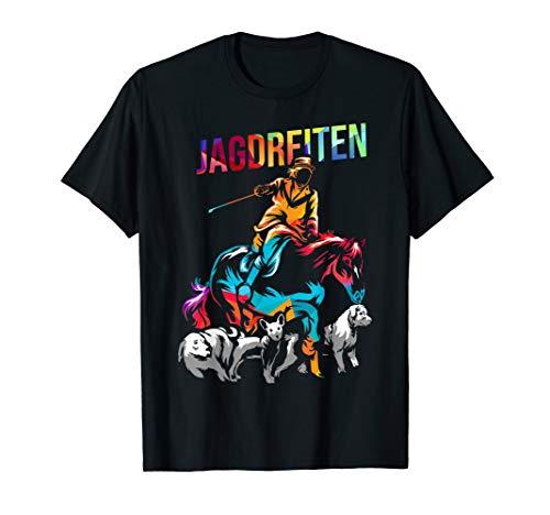 Jagdreiten Schleppjagd T-Shirt