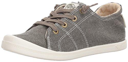 Roxy Women's Rory Slip On Sneaker Shoe, Olive, 7.5