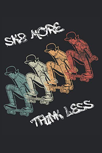 Sk8 More Think Less: Notebook | Dots, Regular (6
