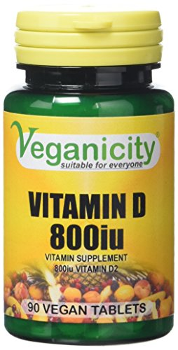 Veganicity Vitamin D 800 General and Joint Health Supplement - 90 Tablets