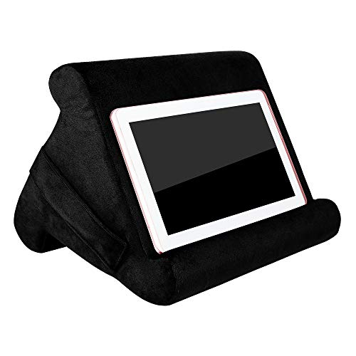 23GUANYI Multi-surface Tablet Cushion Stand,Soft Tablet Pillow Holder Cushion Suit for Most Smartphones/pad/Tablet/Books -Break Resistant,Durable and Attractive Designs,11* 7.9* 8.8 inch