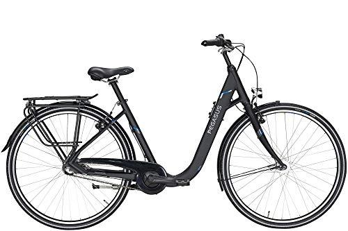 "Pegasus Comfort SL 3 28"" Citybike 3-Gang Nabe Comfort-/Tiefeinstieg 28 Zoll Damenfahrrad 3 Gang Nabenschaltung mit R�cktritt schwarz matt"