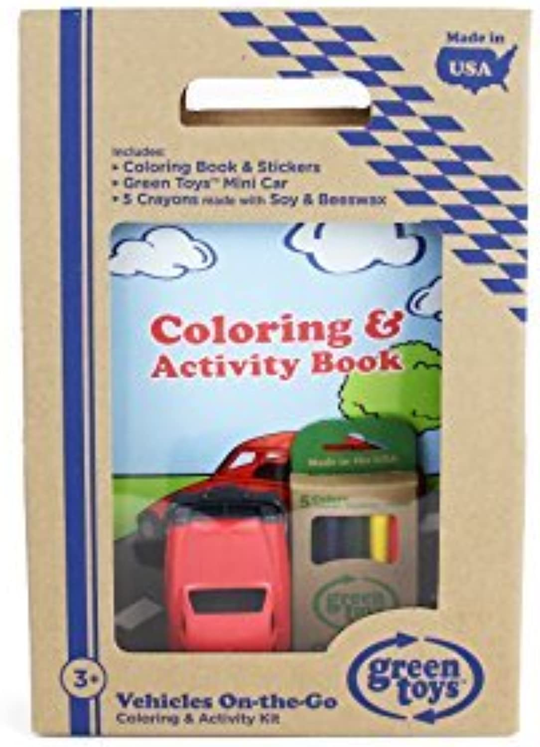 Green Toys Vehicles coloring & Activity Kit by Green Toys