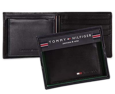 Tommy Hilfiger Men's 31TL22X060, Black, One Size