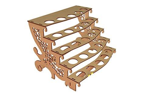 Kit para hacer porta conos de madera DM para candy bar mesa dulce. Medidas: 22 cm x 30 cm. Cumpleaños, bodas, comuniones, bautizos.