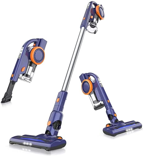ORFELD Cordless Vacuum Cleaner, 20000Pa Stick Vacuum 4 in 1, Lightweight, Up to 50 Minutes Runtime, with Dual Digital Motor for Deep Clean Whole House, EV679
