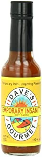 Dave's Gourmet Hot Sauce, Temporary Insanity, 5 Ounce by Dave's Gourmet
