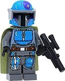 LEGO Star Wars - Minifigura de guerrero tribal mandaloriano #4...