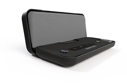 Memorex Rechargeable Bluetooth Travel Speaker, Black
