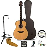 PRS 6 String Acoustic-Electric Guitar, Right, TE40ENA, w/Hard Case & Accessories (TE40ENA-KIT-1)
