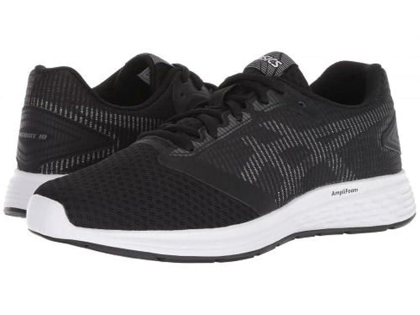 第二スイ明示的にASICS(アシックス) レディース 女性用 シューズ 靴 スニーカー 運動靴 Patriot - Black/White [並行輸入品]