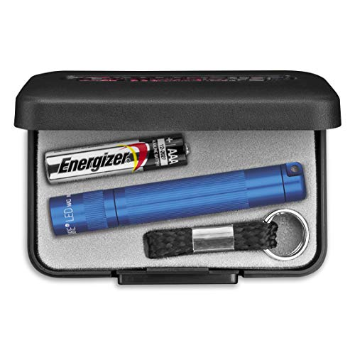 Maglite Solitaire LED blue - 37 lumens - 55m beam - gift boxed