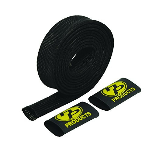 "Heatshield Products 204003 Black 5/16"" ID x 3' Brake Line Heat Shield Sleeve"