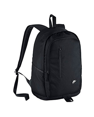3. Nike Club Team Swoosh Backpack  - Bolsillo superior circular