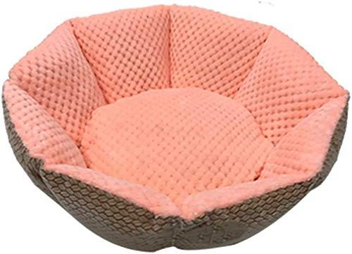 YLCJ Kleine Nest Nest Achthoekige Kleine Hond Slaapzak, Wasbaar Vier Seizoenen Nest, Drie Kleuren Beschikbaar (Kleur: A), C