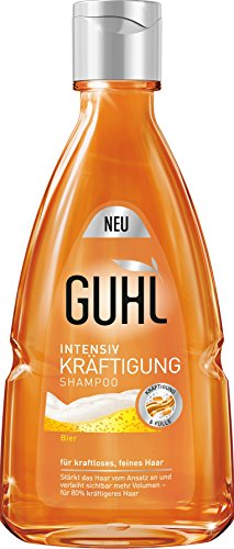 Guhl Intensiv Kräftigung Shampoo mit Bier, 6er Pack (6 x 1 Stück)