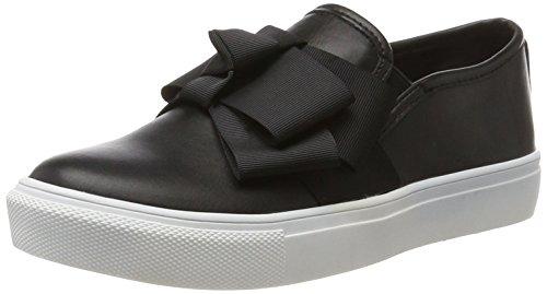 Buffalo Shoes Damen 328172R PU Slipper, Schwarz (Black 01), 39 EU