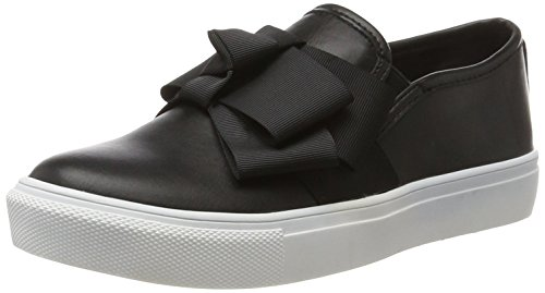 Buffalo Shoes Damen 328172R PU Slipper, Schwarz (Black 01), 39 EU