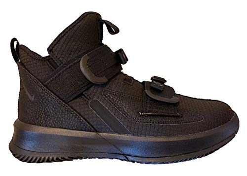 Nike Men's Lebron Soldier 13 SFG Basketball Shoes (10.5, Black/Black)