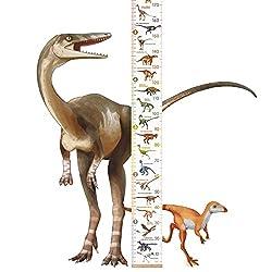 4. LIFELIKO Personalised Kid's Dinosaur Growth Chart