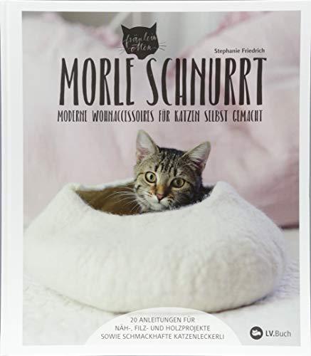 Morle schnurrt: Moderne Wohnaccessoires für Katzen selbst gemacht.
