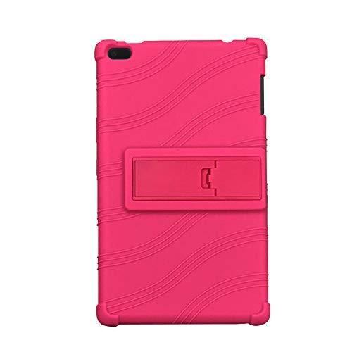 Yudesun Funda para Lenovo Tab4 8 - Soporte Silicona uave Skin A Prueba de Golpes Protectora Cubrir Funda para Lenovo Tab 4 8 TB-8504F/N 8' Tablet