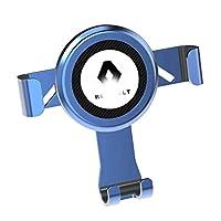 ルノー、携帯電話ホルダーベント携帯電話ホルダーと互換性自動車電話ホルダー、のX MAX/XS/XR/X / 8S / 8/7月6日プラス、ギャラクシーS9 / S8 / S7、P20について (Color : A)