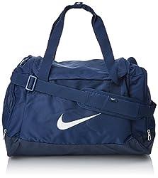Nike bag club team sports bag, black / white, 40 x 23 x 27 cm, 43 liter, BA5194-010