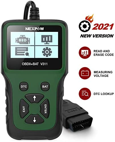 NEXPOW Car OBD2 Scanner V311 Automotive Engine Fault Code Reader Car Diagnostic Scan Tool with product image