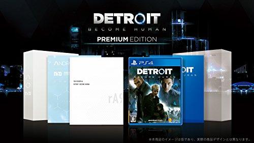 【PS4】Detroit: Become Human Premium Edition JAPANESE IMPORT